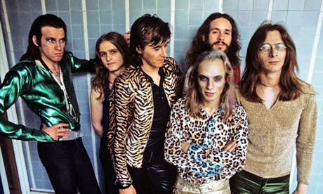 Roxy Music At Royal College Of Art In London in 1972