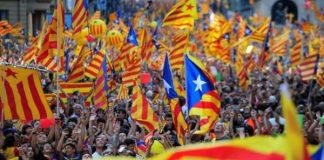 Καταλονία αστική αντίδραση ανεξαρτησία