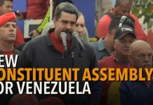 Βενεζουέλα - εξελίξεις - Μαδούρο - Συντακτική Συνέλευση