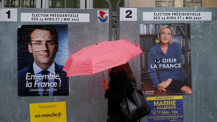 Μακρόν - Λεπέν - Μελανσόν - εκλογές Γαλλία