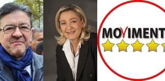 Γαλλία, Ιταλία, Μελανσόν, Λεπέν, Μακρόν, τραπεζική κρίση, Κίνημα 5 Αστέρων