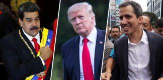 Βενεζουέλα πραξικόπημα Τραμπ Γκουαϊδό Μαδούρο