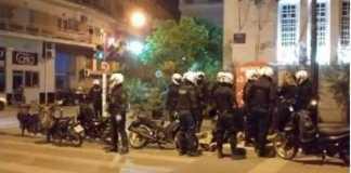 Αστυνομική τρομοκρατία, καταστολή, Κυψέλη, Πλατεία Αγίου Γεωργίου