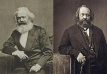 μαρξισμός, αναρχισμός, Καρλ Μαρξ, Μιχαήλ Μπακούνιν, Πιερ-Ζοζέφ Προυντόν