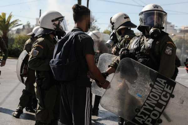 αστυνομία, κυβέρνηση, μαθητές, μαθητικό κίνημα, καταλήψεις