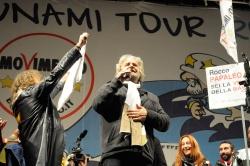 Grillo en Roma. Foto: aleanz77