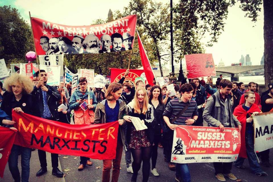 Revolutionary students and youth at End Austerity Now demo – sign up here