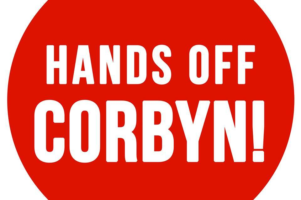 "In our own words: ""hands off Corbyn!"""