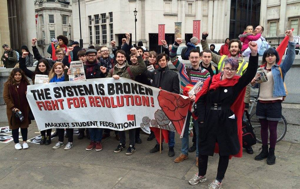 Report: Anti-Trident Demonstration in London – Down with Trident, down with capitalism!