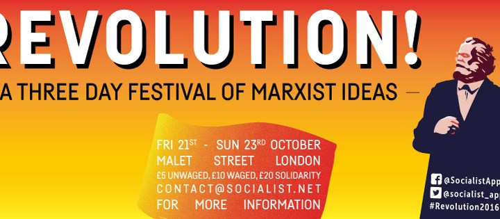 REVOLUTION! – a three day festival of Marxist ideas