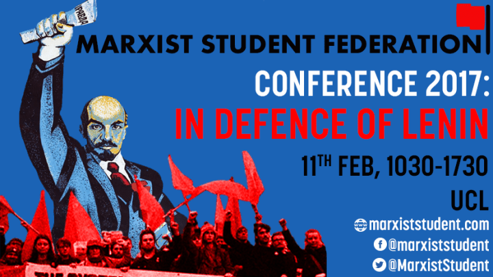 In Defence of Lenin 2017: final agenda