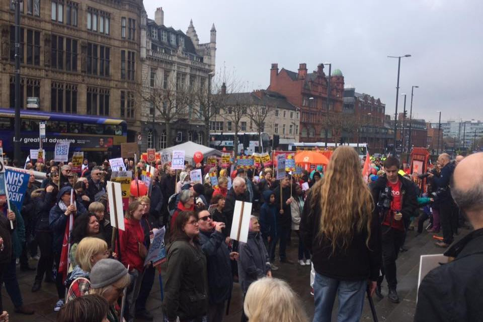 Fighting for the NHS in Leeds