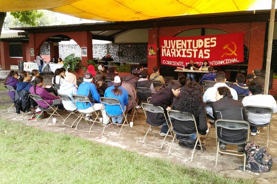 [Video] Juventudes Marxistas in Mexico celebrate 100 years since the Russian Revolution