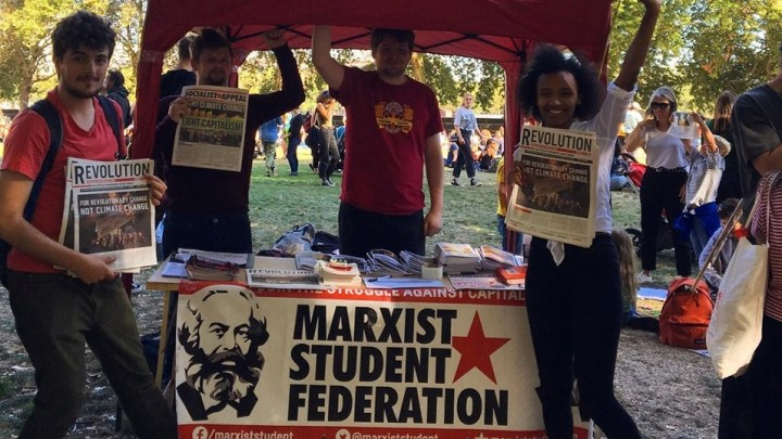 As general election looms, Marxist students surge