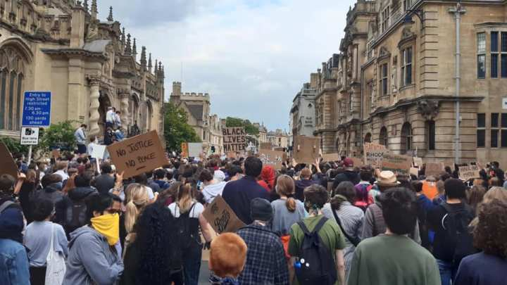 'Rhodes you're next' – Black Lives Matter in Oxford