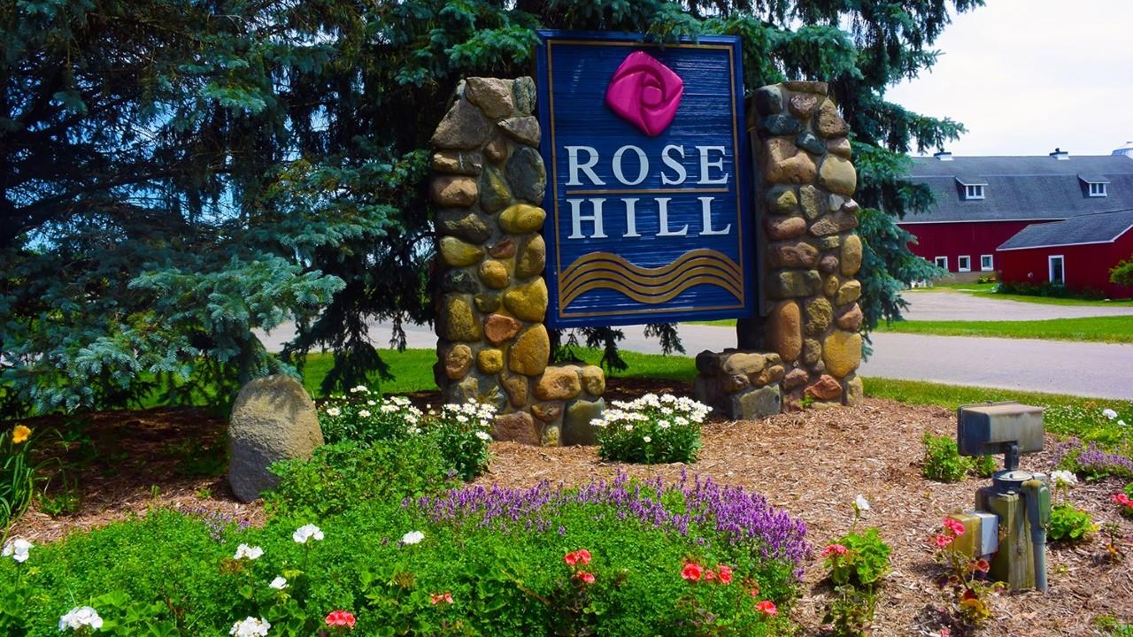 Rose Hill signage