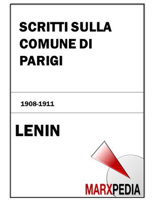 Lenin | Scritti sulla Comune di Parigi