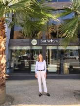 Mary Stuart Freydberg at Sothebys in Palm Springs, CA