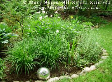 The peony garden of Mary Ahern the Artist