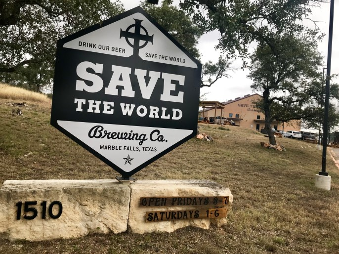 100% philanthropic brewery in Marble Falls