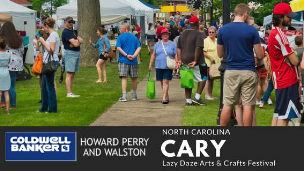 Cary NC Lazy Daze Family Event