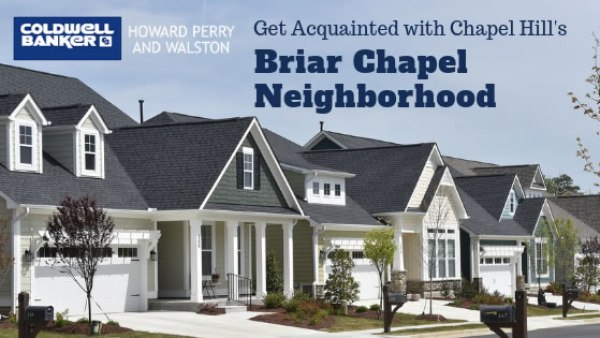 Chapel Hill Briar Chapel Neighborhood