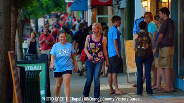 Franklin Street Chapel Hill Residents