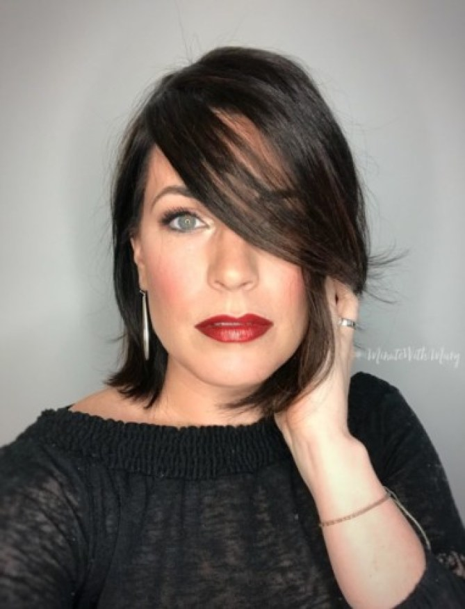 Red Ombre Lips new year's glam #MinuteWithMary