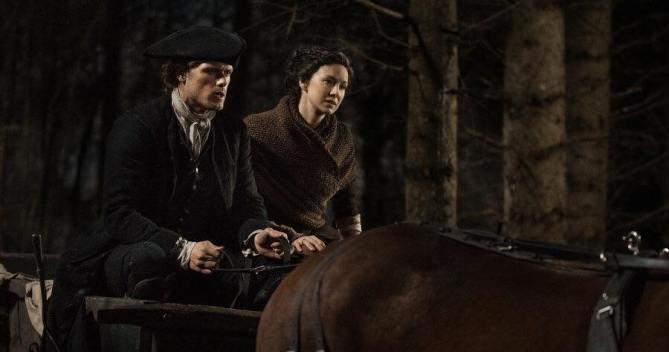 outlander season 4 behind the scenes photos