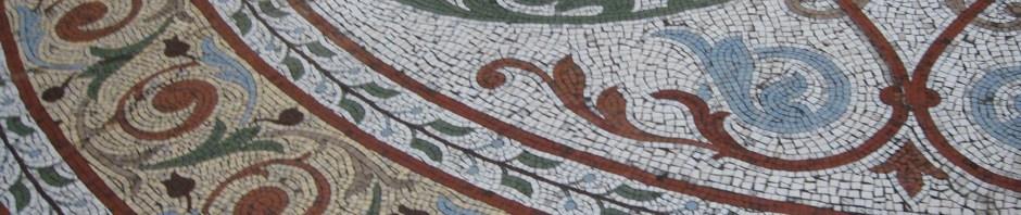 Block Arcade | Mosaic tiled floor Melbourne, Is It Art?, Maryann Adair,
