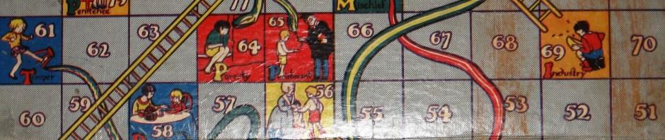 snakes & ladders, board games, past-times, Is It Art?, Maryann Adair,