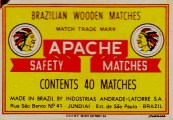 apache matches from Brazil