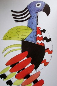 Fernand Leger - Ballet program illustration