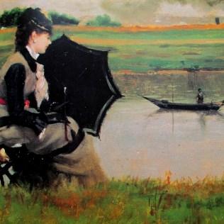 Federico Zandomeneghi - Fishing on the Seine