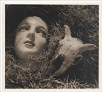 Max Dupain - Doll's head and goat's skull