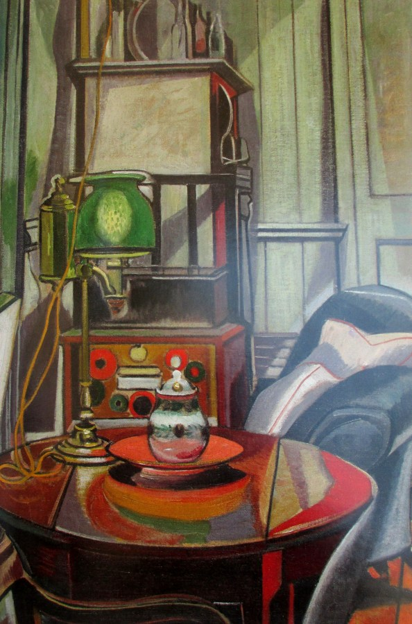 Roy de Maistre - studio interior