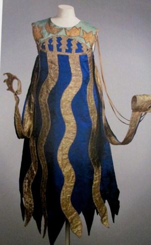 Natalia Goncharova - costume for a squid