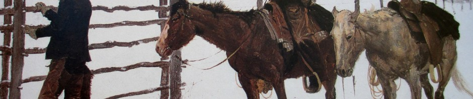 Frederic Remington - The Fall of the Boy