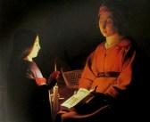 Georges Etienne de la Tour - education of the virgin, is it art?