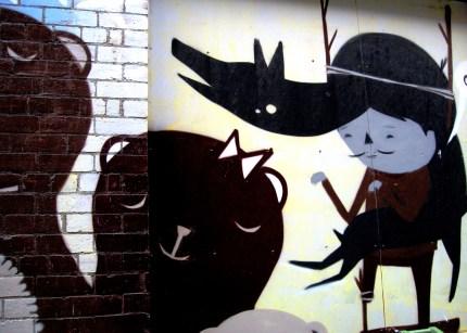 Ghostpatrol, street artist, is it art?