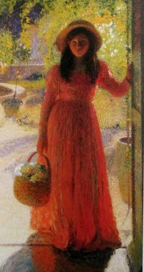 Henri Martin - Gabrielle at the Garden Door, art, is it art?