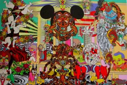 Keiichi Tanaami - mysterious deliverance, Japanese artists, is it art?,