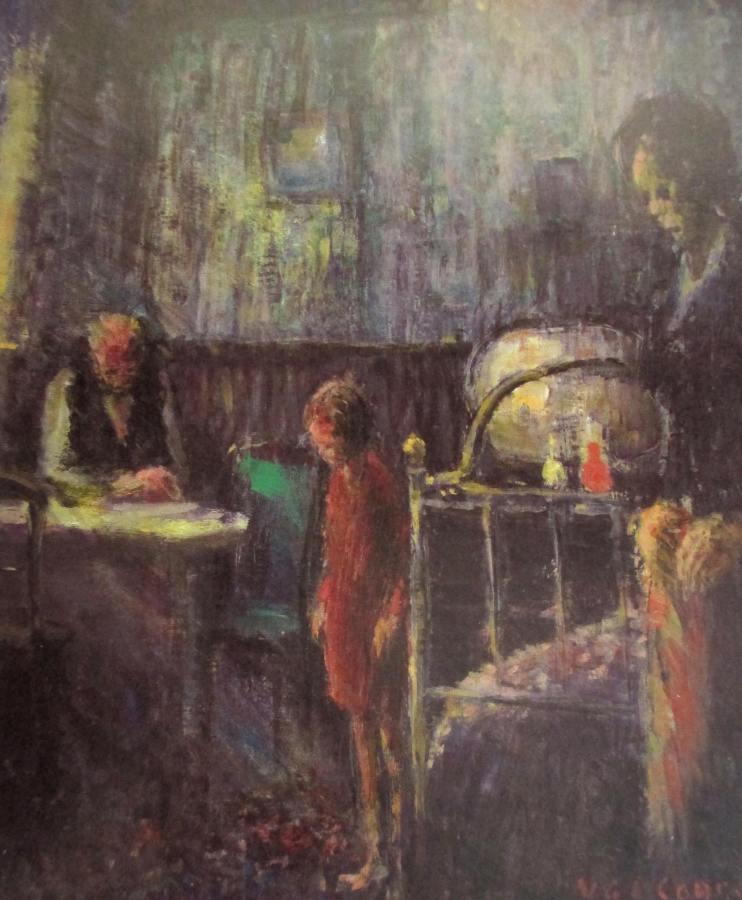 Vic O'Connor - The Room, Australian artists, art, is it art?