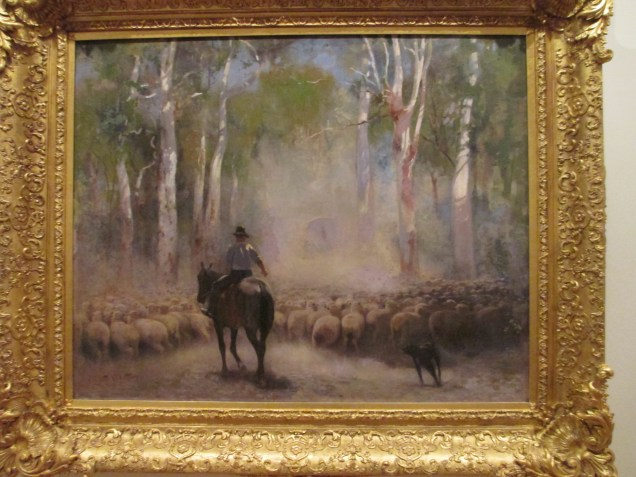 Walter Withers - The Drover, Australian artists, art, is it art?