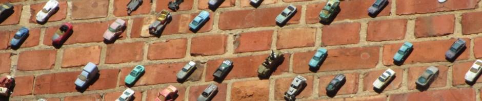Matej Andraz Vogrincic - cars on a wall, Adelaide, street art installation,