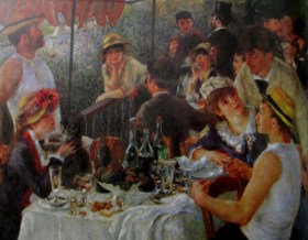 Renoir -The Luncheon of the boating party, is it art?