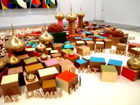 Emily Floyd installation, art, is it art?