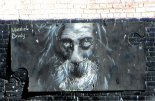 CDH | Matthew Brady, street art, street artists, Melbourne, stencil art, Is it art?