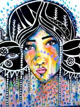 Mimby Jones Robinson, street art, is it art?