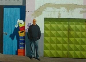 Jeffrey Smart | Self Portrait at Papini's